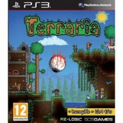 Terraria Game PS3 Brand New