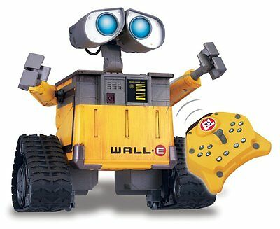 Wall-E Remote Control Robot - Tested Works & Working Remote Included