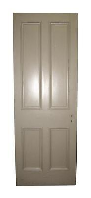 Sturdy Four Panel Tan Door