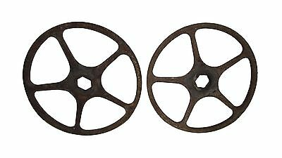 Pair of Iron Wheels