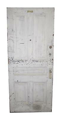 Wide Five Panel Wooden Hotel Door