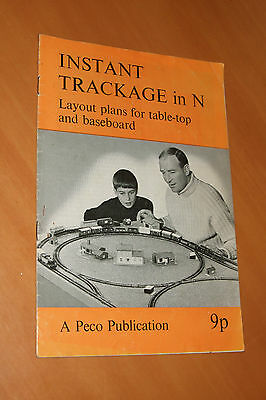 Instant Trackage In N Gauge Model Railway Layout Construction Guide Book