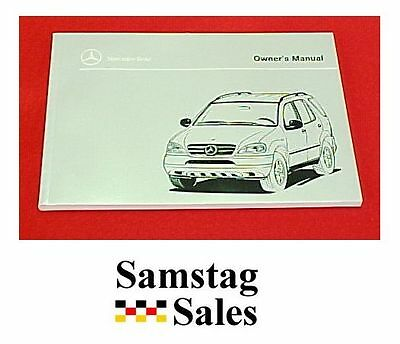 Mercedes Benz T-3098-1630-B Factory 1998 type ML320 Owner's Manual