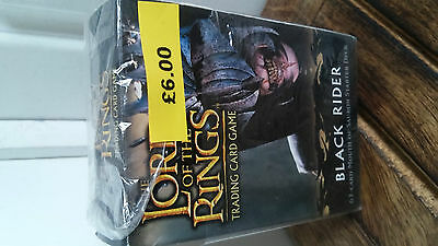 Lord of the Rings Trading Card Game Theme Starter Deck Black Rider BNIP