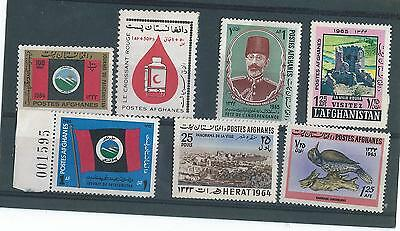Afganistan Mint Stamp Collection