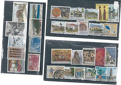 Greece Used Stamp Collection