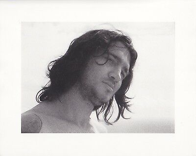 RED HOT CHILI PEPPERS Set of 4 PORTRAIT PHOTOGRAPHS  By JULIAN SCHNABEL