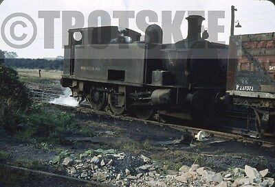 35mm Slide Industrial Steam Loco NCB Allerton Bywater Colliery Whitwood No  1958