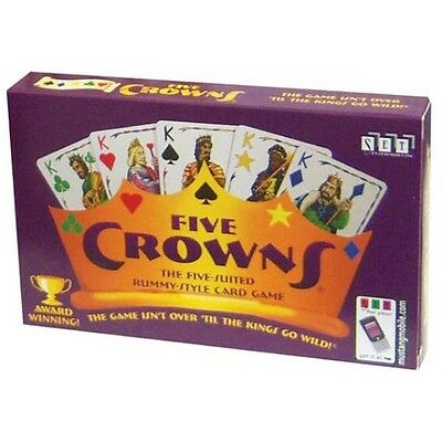 Five Crowns Card Game 5 Suites Classic Original Family