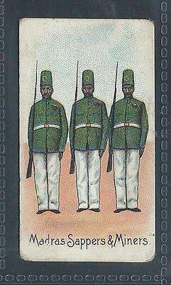 Roberts Colonial Troops Bobs Cigarettes Madras Sappers & Miners