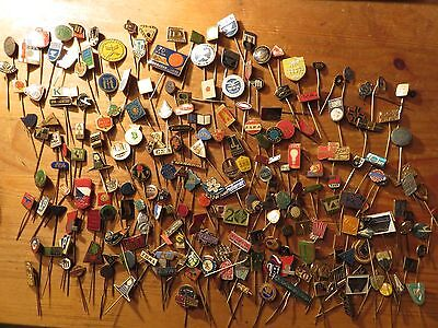 Czechoslovakia 1960s-1970s Vintage Badges/Pins Collection 250+ Pieces