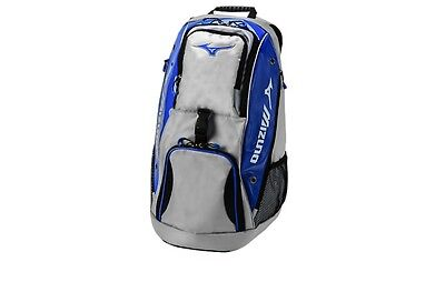 Mizuno Tornado Volleyball Backpack NEW Royal/Silver Bag Travel Backpack