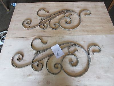 Antique Victorian Iron Gate Window Garden Fence Architectural Salvage #914
