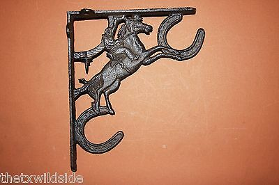 (8),bucking Bronco,shelf Brkts,corbels, (Antique Look),horses,western Decor,b-34