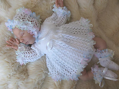 """Dress Set To Fit Prem Baby Or 16-18"""" Reborn By Dashele Designs"""