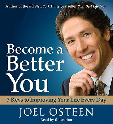 NEW! Become a Better You by Joel Osteen [Audiobook]