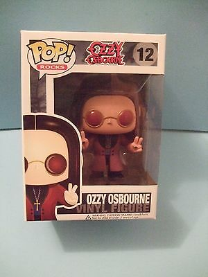 Funko Pop ! Rocks Ozzy Osbourne #12 Retired Vinyl Figure New