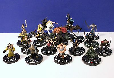 Mixed Lot of 16 Mage Knight Figures 92416