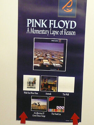 Pink Floyd A Momentary Lapse Of Reason Promotional Album Poster 1987