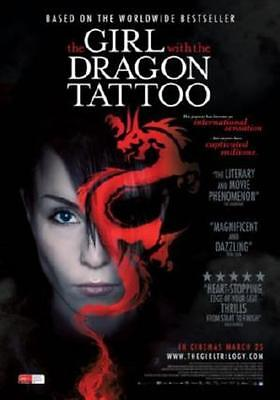 Girl With The Dragon Tattoo Movie Poster 24in x 36in