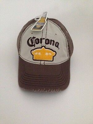 The  Official Corona Extra Hat ( Brown ) NWT