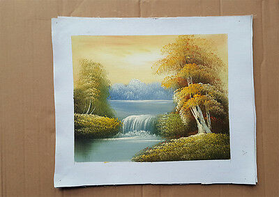 Free Shipping Fine Art - Hand Painted Modern Landscape Oil Painting On Canvas D