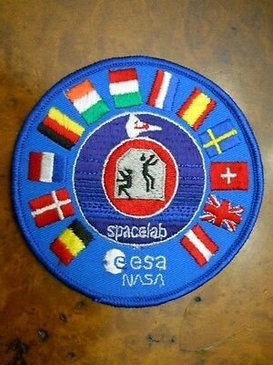 Nasa Esa Spacelab Patch ( New Without Tags)