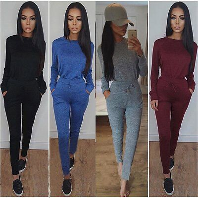 Sexy Women Ladies Clubwear Playsuit Bodycon Party Jumpsuit Romper Long Trousers