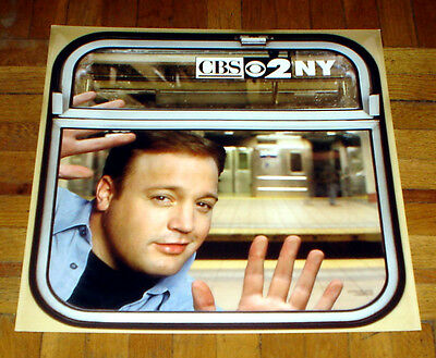 Cbs Vintage King Of Queens 2000 Subway Poster Kevin James