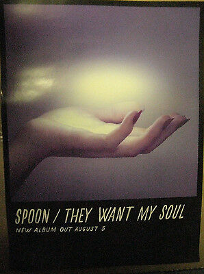 Spoon They Want My Soul Limited Edition Poster