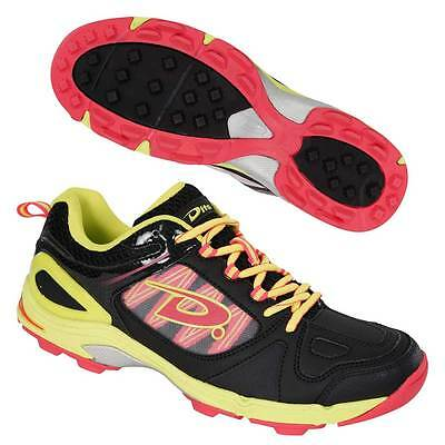 Dita Myth Hockey Shoes Astro Trainers Black/Fluo Yellow/fluo Pink