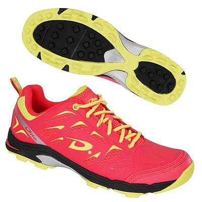 Dita Sublime Hockey Shoes Astro Trainers Fluo Pink/Fluo Yellow/Black