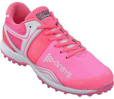 Grays G9000 LP Womens Hockey Shoes Sports Astro Trainers Pink