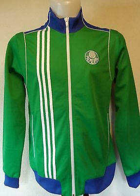 Palmeiras Green Track Jacket By Adidas Size Medium Brand New With Tags