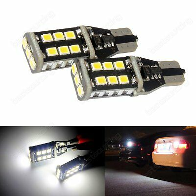 2x 955 921 T15 168 W16W 15 LED Bulb Interior Reverse Tail Side Light DRL Canbus