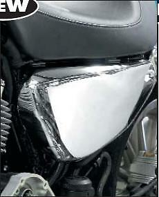 Chrome Battery side cover to fit Harley-Davidson XL Sportster 2004 to 2013