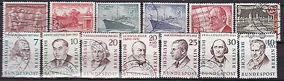 West Berlin Commemoratives (7E) Used
