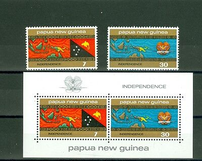 Papousie-Nlle Guinee - Independance - Mnh