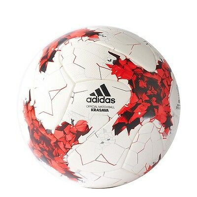 Adidas Confed Cup Omb 5 White   Red   Power Red   Grey Fussball