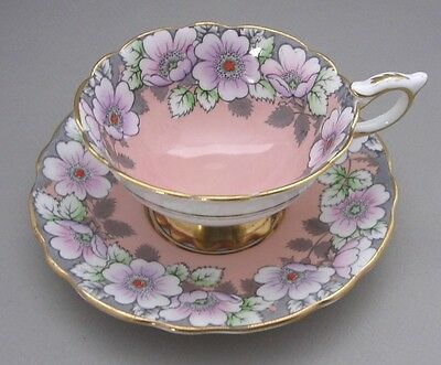 Royal Stafford - Vintage Bone China Cup And Saucer - Pattern 7751