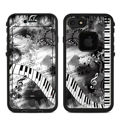 Skin for LifeProof FRE iPhone 7 - Piano Pizazz by Juleez - Sticker Decal