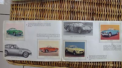 TIGER FULL ALBUM OF MODERN SPORTS CARS 1950s FLEETWAY PUBLICATION VG/COND