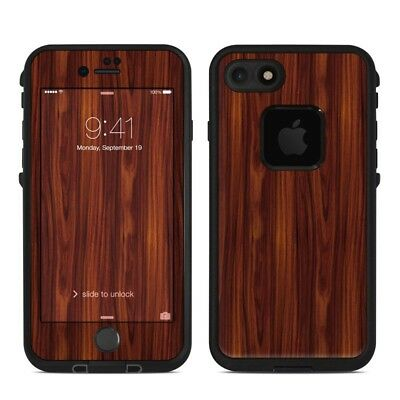 Skin for LifeProof FRE iPhone 7 - Dark Rosewood - Sticker Decal