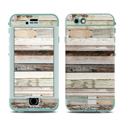 Skin for LifeProof Nuud iPhone 6S - Eclectic Wood - Sticker Decal