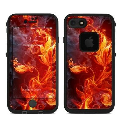 Skin for LifeProof FRE iPhone 7 - Flower Of Fire - Sticker Decal