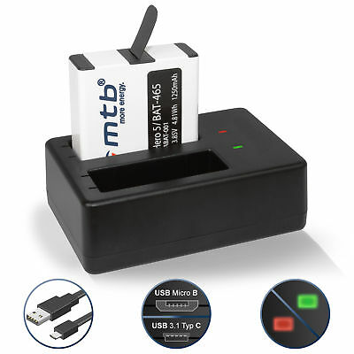 Chargeur double + Batterie AABAT-001 pour GoPro Hero5 / GoPro Hero 5