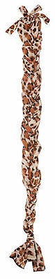 Lycra Braid In Tail Bag Leopard Horse Tack New Equine