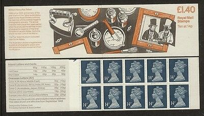 GB Stamps: Decimal Machin Folded Booklet FM6A.