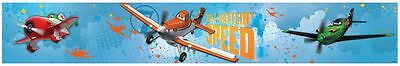 DISNEY PLANES 5m SELF-ADHESIVE WALLPAPER BORDERS NEW OFFICIAL