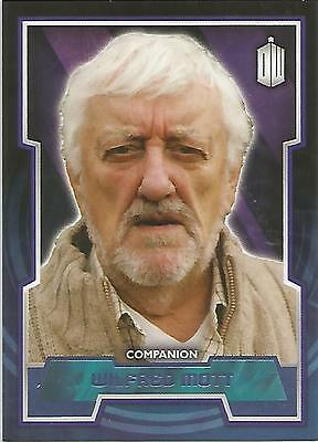 "Topps Doctor Who 2015 - No. 50 ""Wilfred Mott"" Purple Parallel Card #35/99"